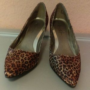 Hush Puppies Soft Style leopard print shoes